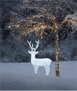 Large Outdoor LED Reindeer