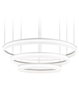 Circular LED Pendant - 3 Interwoven Rings
