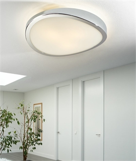 Large 480mm Diameter Round Flush Light