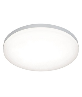 Round Flush Slim LED Drum Light IP44 Rated