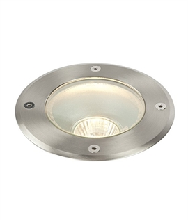 Large buried uplight for GU10 lamp
