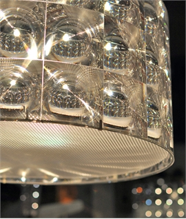 Fresnel Lens Refracting Pendant Shades by Innermost