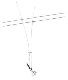 Long Drop Tension Wire Spotlight