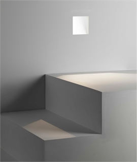 Square Trimless Plaster-In Low Level GuideLight