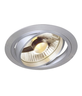 Adjustable Aluminium Recessed Downlight - ES111 Lamp