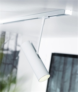 Tubular Adjustable Spot Light Track Head