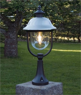 Matt Black Outdoor Post Light