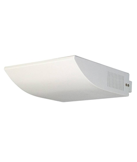 SLV Shell Asymmetric Metal halide Wall Uplight - White