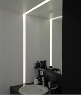 Plaster Linear Light Micro Blade Lighting Styles