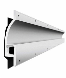 Mini Blade Recessed Plaster Lighting Channel