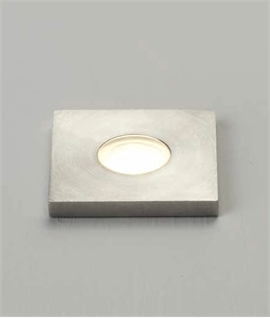 Mini Stainless Steel IP67 LED Niche Light