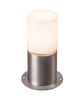 Stainless Steel Round Mini Bollard Light
