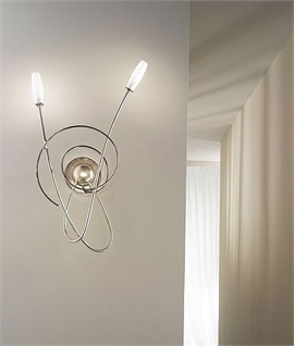 Miss Irony Double Arm Wall Light