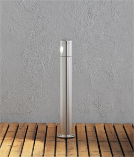 Modern Aluminium Path and Garden LED Bollard