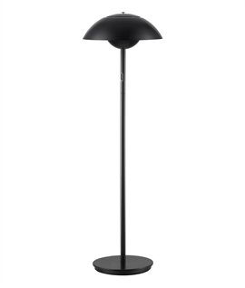 Modern Dimmable LED Floor Lamp with Adjustable Shade