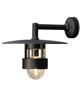 Stylish Modern Low Glare Exterior Wall Light