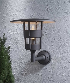 Stylish Exterior Low Glare Bracket Wall Light