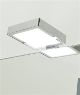 Modern Mains LED Square Over Cabinet Light