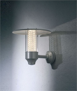 Stylish Modern Wall Light - Reflected Wire