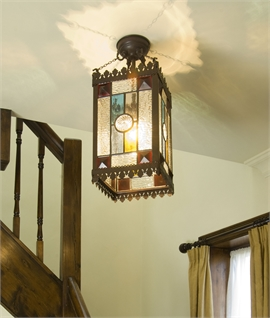Victorian Hall Lantern - Height 495mm