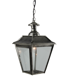 Victorian Style Lanterns with Chain Link Suspension