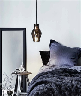 Nordlux Blow Grey Glass Dimmable LED Pendant 84213010