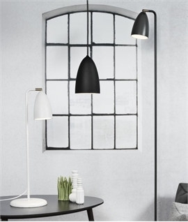 Metal LED Floor Lamp Slim Profile