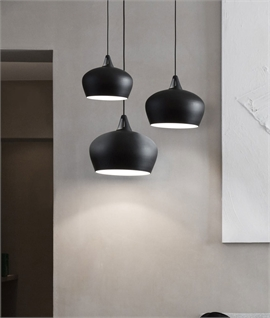 Japanese Style Ceiling Pendant Light - 3 Sizes