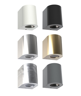 Funky Filtered LED Wall Light - 6 Finishes