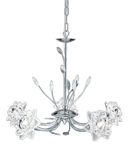 Bellis Chrome 5 Lamp Multi Arm