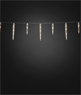Outdoor Acrylic LED Icicle Set