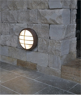 Outdoor Ceiling or Wall Light - Grid Design