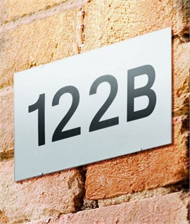 Non-electric House Number Plaque