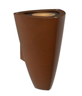 Outdoor IP54 Torch Light - Rust Finish