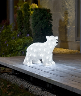 Outdoor LED Baby Polar Bear