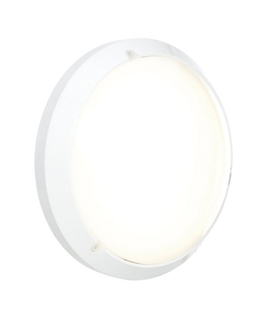 Round White Ceiling Light with Microwave Sensor