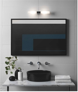 Diffused Twin Wall Light For Over Bathroom Mirrors