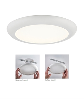 LED Oversize Downlight - Cover Holes from 65mm to 205mm