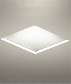 Recessed Square Panel With Hidden LED Light