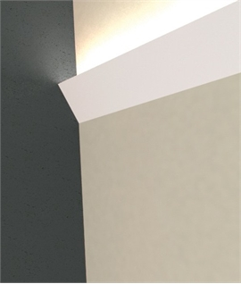 LED Plaster Cornice Uplight - Cale