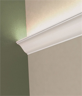 LED Plaster Cornice Uplight - Doucine