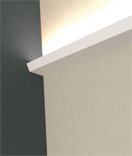 LED Plaster Cornice Uplight - Ligne