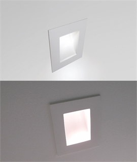 Semi Recessed Low Level Plaster Lighting