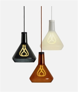 Hand-Blown Glass Shade Pendant Kit