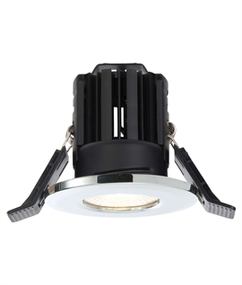 Dimmable Mains LED Fire-Rated IP65 Downlight