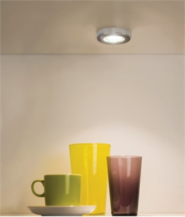Puck Design Under Cabinet LED Light - Recessed or Surface Mountable