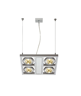 Axilight Square AR111 Suspended Light