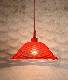 Quirky Interwoven Pendant - 4 Colour Options