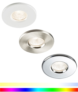 LED RGB And CCT Twist Lock Downlight - IP65 Rated
