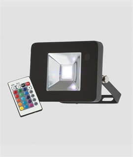 RGB LED Floodlight on Adjustable Bracket